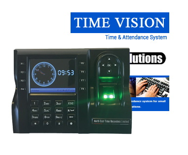 TimeVision <br />Fingerprint Recognition<br />Time & Attendance System