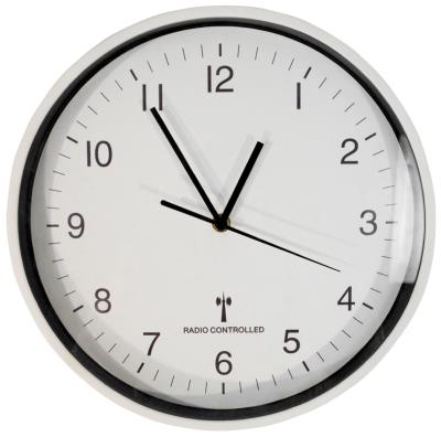 Radio Controlled Battery Operated Wall Clock