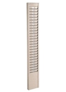 R6704 Metal Time Card Rack