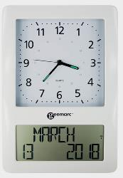 Viso 50 Analoge & LED Display Clock