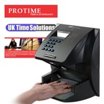 Time & Attendance Biometric Handscan System Protime