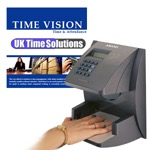 TimeVision <br /> Hand Scan<br />Time & Attendance System