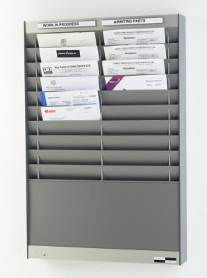 Time Clock Card Racks / ID Card Racks and In/Out Boards
