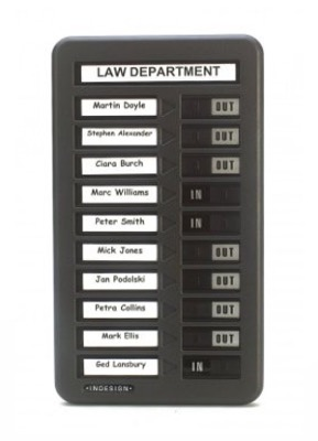WPIT101 IN OUT Indicator Board (10 Name)