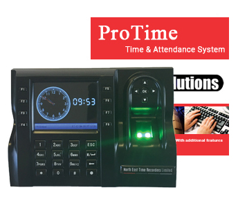 "<span style=""color:red;"">Protime</span><br />Fingerprint Recognition<br />Time & Attendance System"